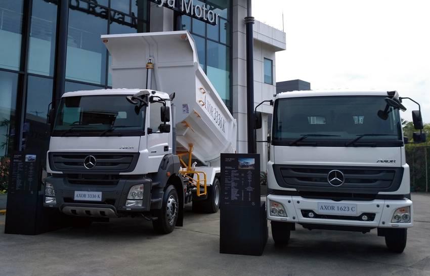 Mercedes Benz Trucks >> Mercedes Benz Truck Indonesia Luncurkan 5 Truk Baru Autos Id