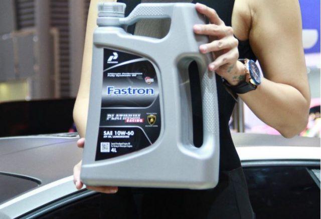 Pertamina Fastron Synthetic Oil Diklaim Sebagai Oli Mobil