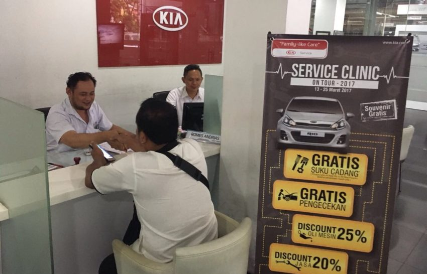 Kia Service Clinic On Tour 2017