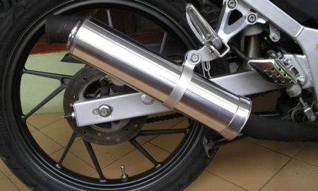 suara tembakan dari knalpot motor