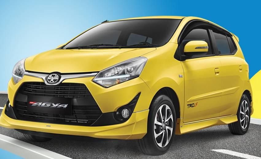 Perbedaan New Toyota Agya dan New Daihatsu Ayla