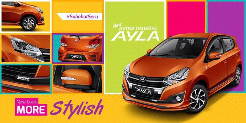 PROMO PAKET KREDIT MURAH DAIHATSU NEW AYLA SEPTEMBER 2017