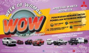 Mitsubishi Week of Women