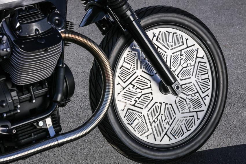 Modifikasi Moto Guzzi V7