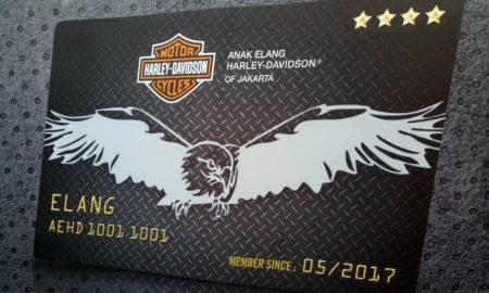 Anak Elang Harley-Davidson Signature Card