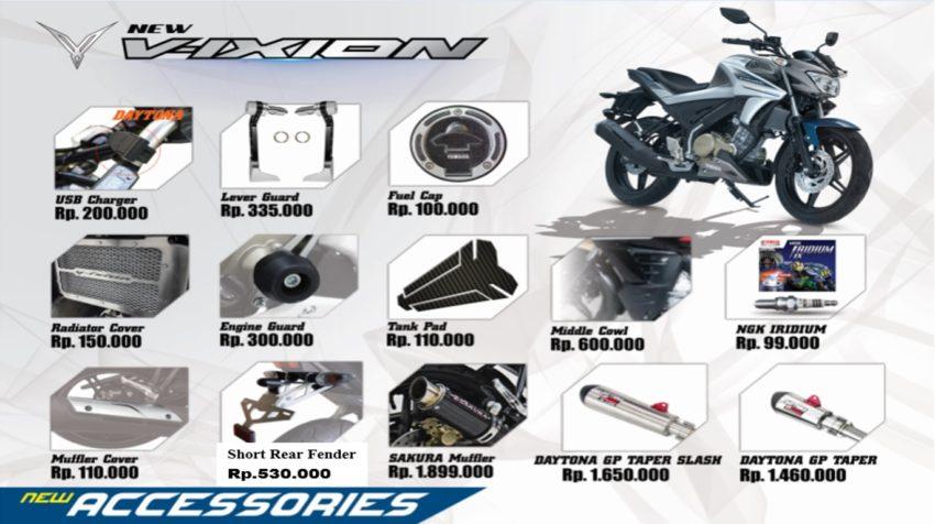 Asesoris All New Yamaha Vixion