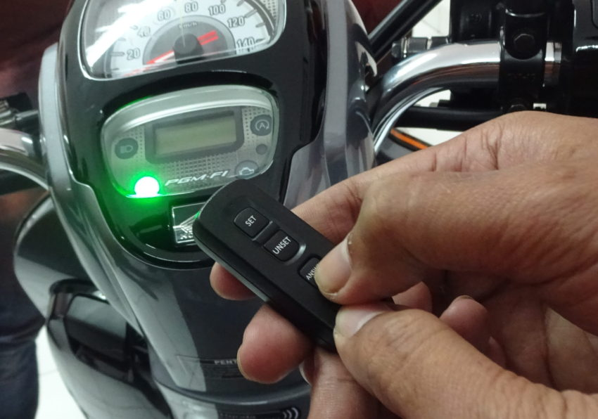 Remote Answer Key Back System All New Honda Scoopy
