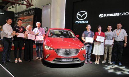 12 pembeli pertama Mazda CX-3