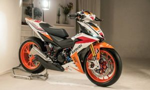 Modifikasi Honda RS150R