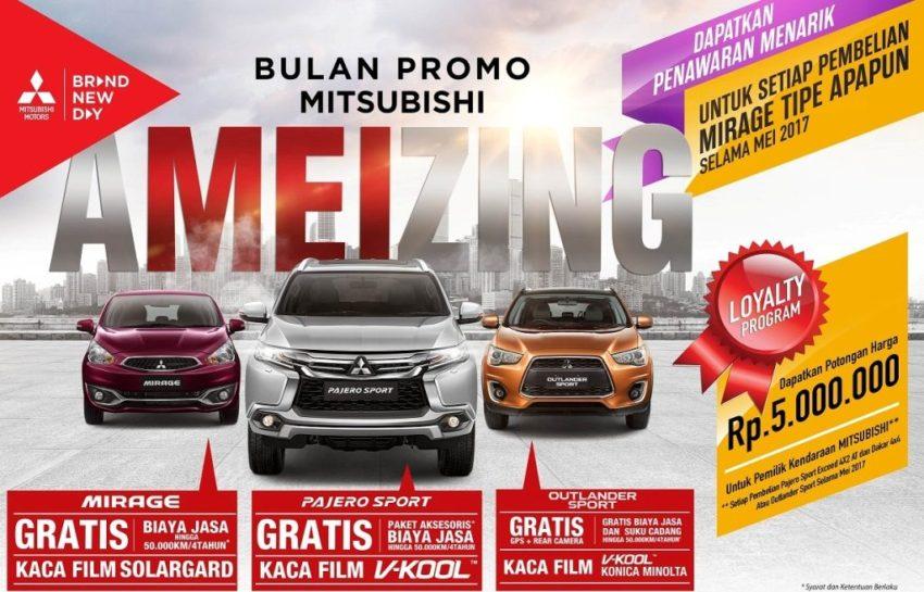 Program Mitsubishi Mei 2017
