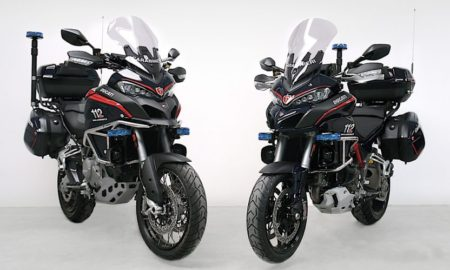 Ducati Multistrada Arms of Carabinieri