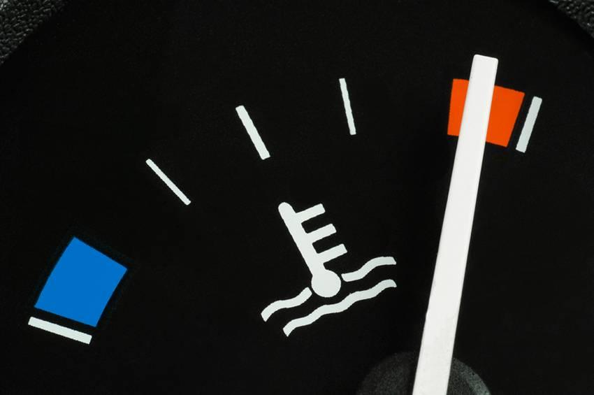 Radiator Mobil Panas