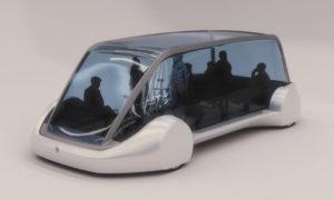 Bus Listrik Tesla
