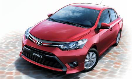 Toyota Yaris Sedan Facelift