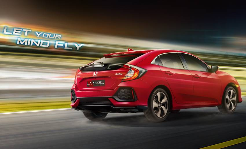 All New Honda Civic Hatchback Turbo