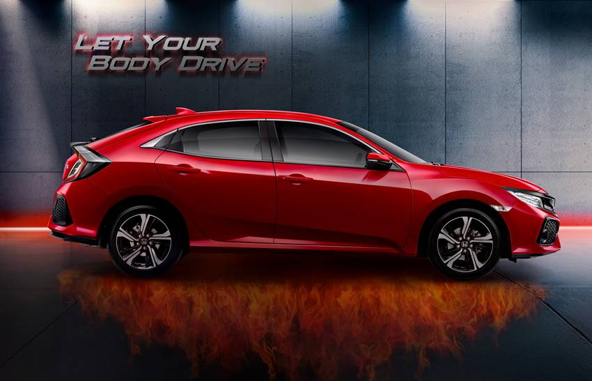 Honda Civic New >> Review All New Honda Civic Hatchback Turbo Autos Id