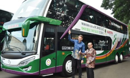 Bus Tingkat Mercedes-Benz
