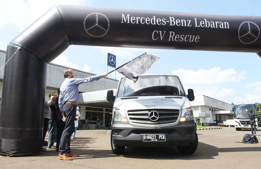Mercedes-Benz Lebaran Rescue 2017