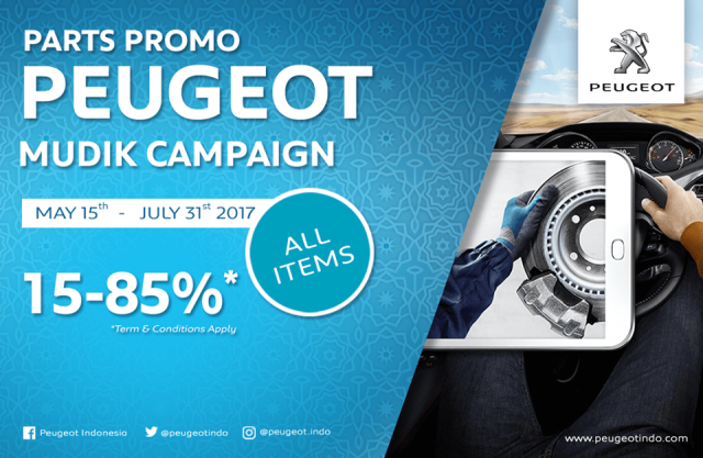 Peugeot Mudik Campaign 2017