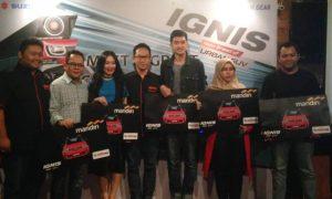 Meet and Greet Suzuki Ignis Customer