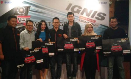 Meet and Greet Suzuki Ignis Customer
