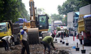 Perbaikan Jalan Mudik Lebaran 2017