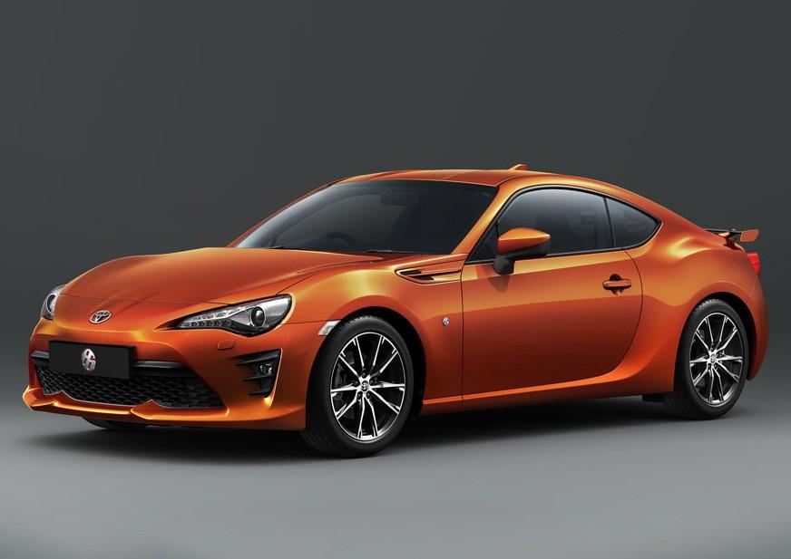Toyota 86 Facelift 2017