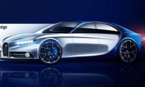 Bugatti Hyper Saloon