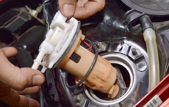gas motor injeksi tidak stabil