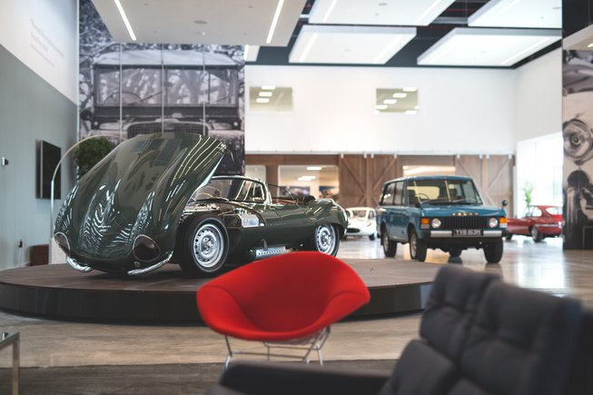 Jaguar Land Rover Classic Car Center