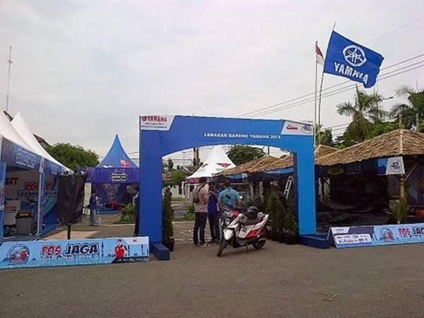 Posko dan Bengkel Jaga Yamaha