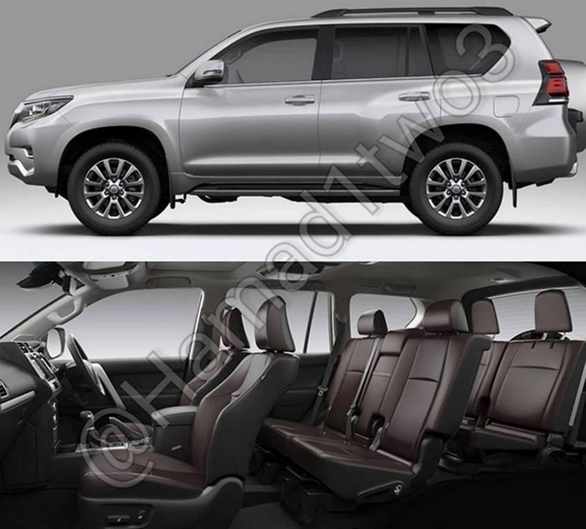 Toyota Land Cruiser Prado Facelift 2018
