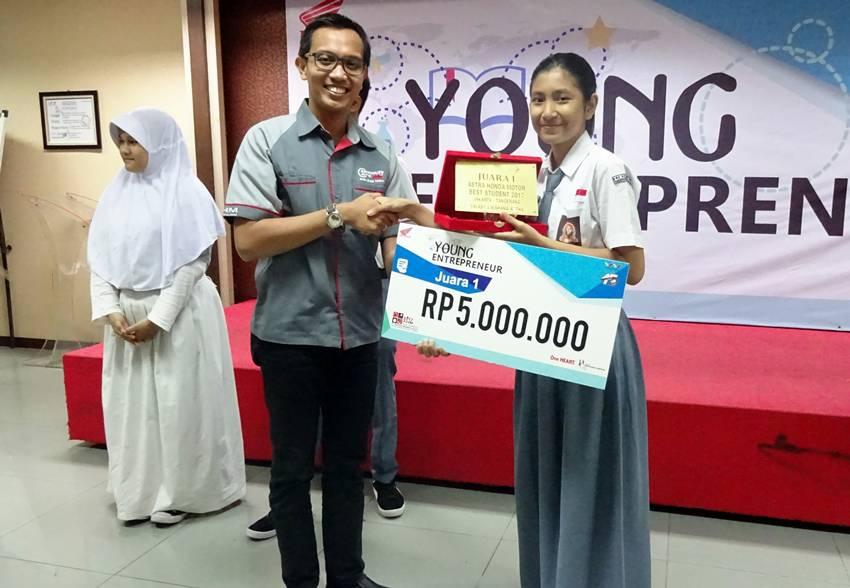 Astra Honda Motor Best Student 2017