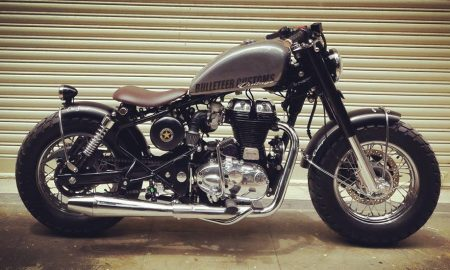 Modifikasi Royal Enfield Bullet 500