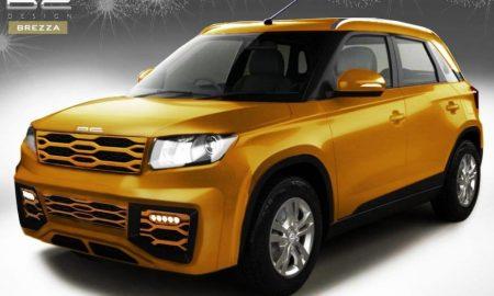 Modifikasi Suzuki Vitara Brezza
