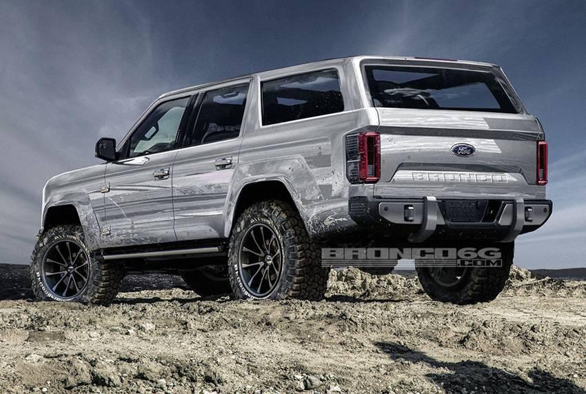 Ford Bronco Terbaru