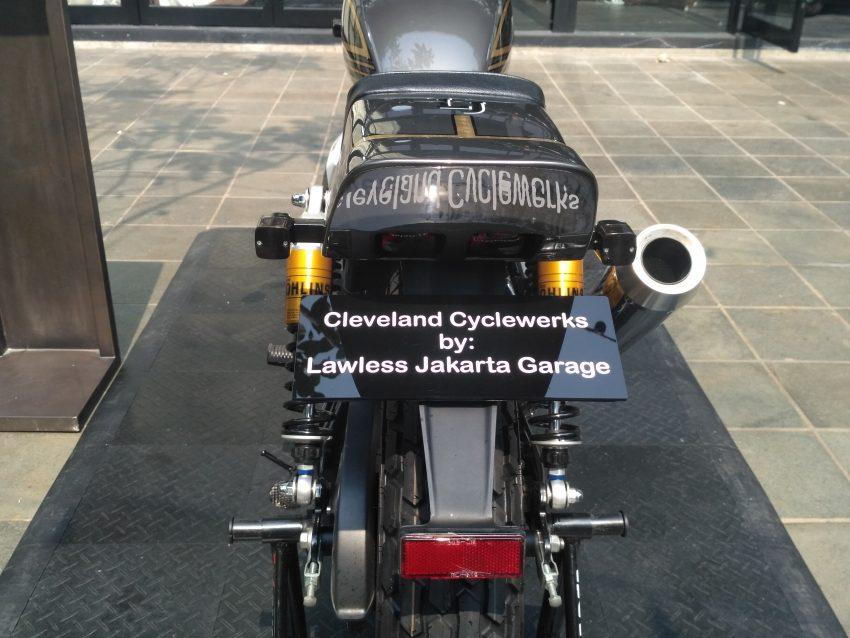 Modifikasi Claveland Cyclewerks Flat Track