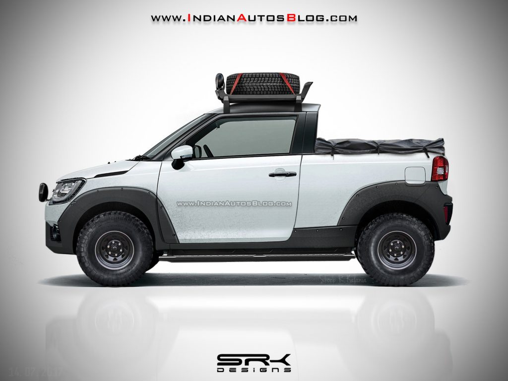 Menggoda Suzuki Ignis Pickup Adventure Karya Desainer India Autosid