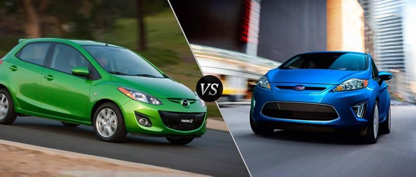 Mazda2 2012 atau Ford Fiesta 2012
