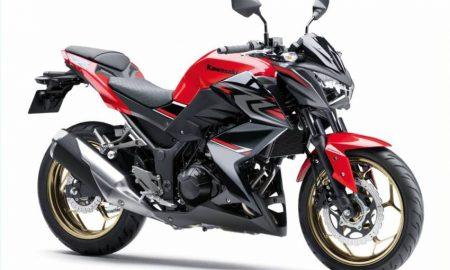 Kawasaki Z250 ABS Red