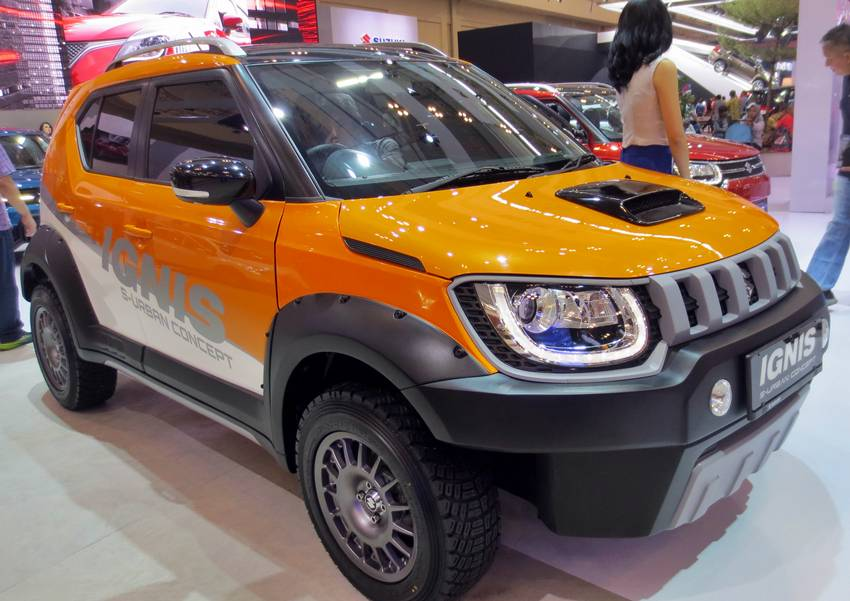 Modifikasi Suzuki Ignis