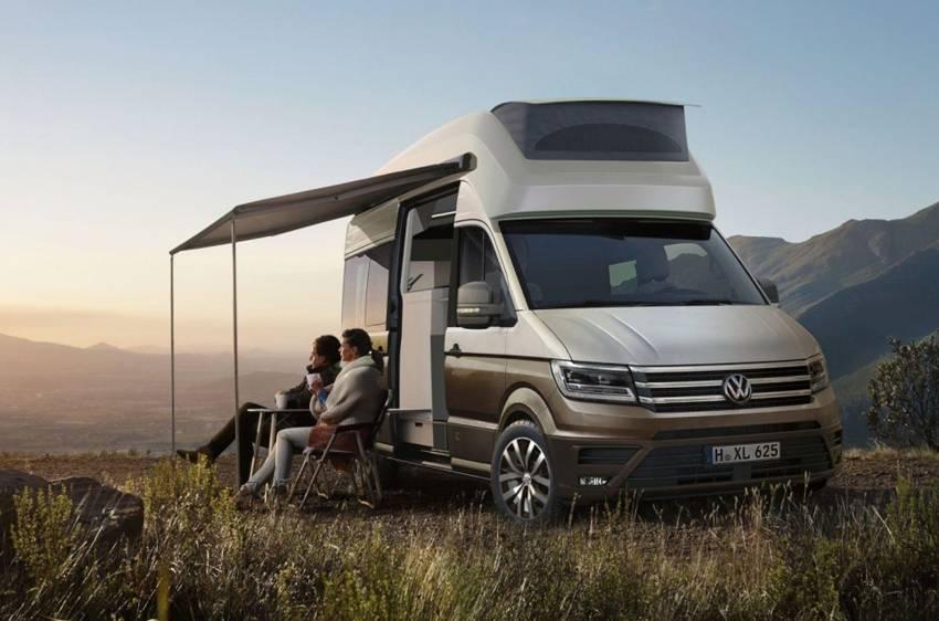 VW California Xxl >> Volkswagen California Xxl Concept Mobil Impian Para