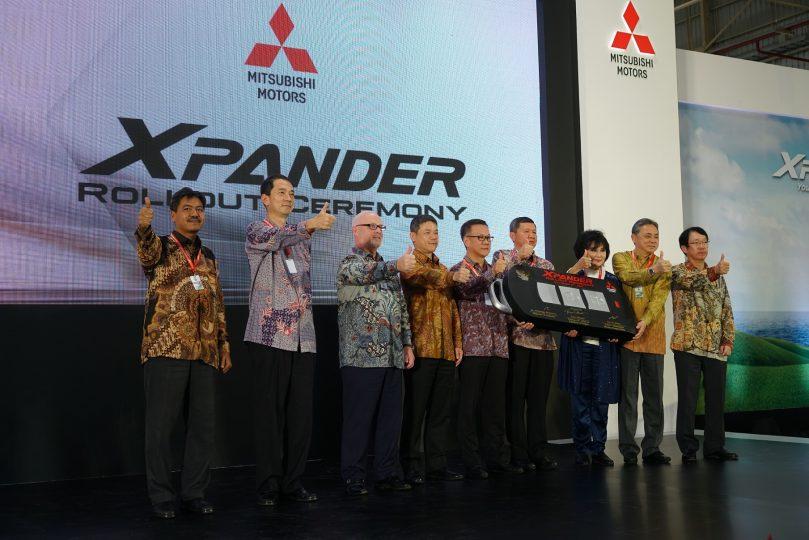 Produksi Mitsubishi Xpander