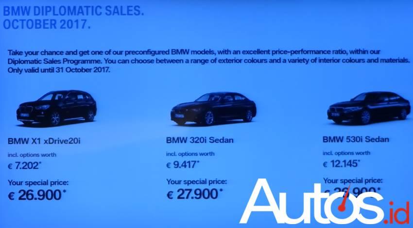 Mobil BMW Tahan Senapan
