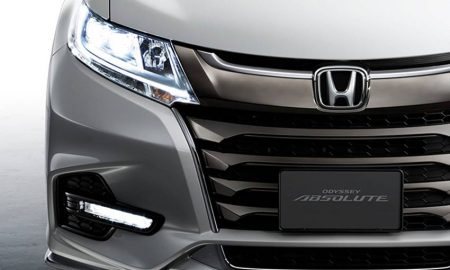 Honda Odyssey facelift 2018