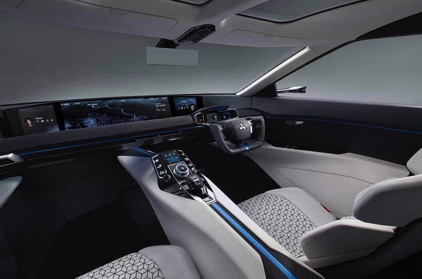 Mitsubishi e-Evolution Concept -3