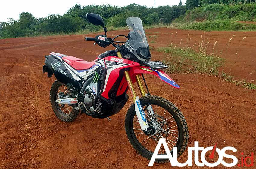 review Honda CRF250 Rally