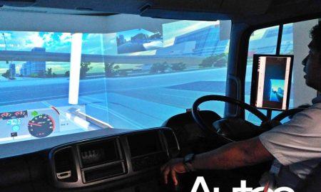 Simulator Safety Driving Truk
