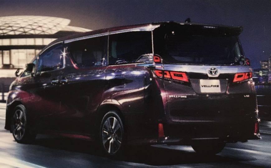 Toyota Vellfire Facelift 2018