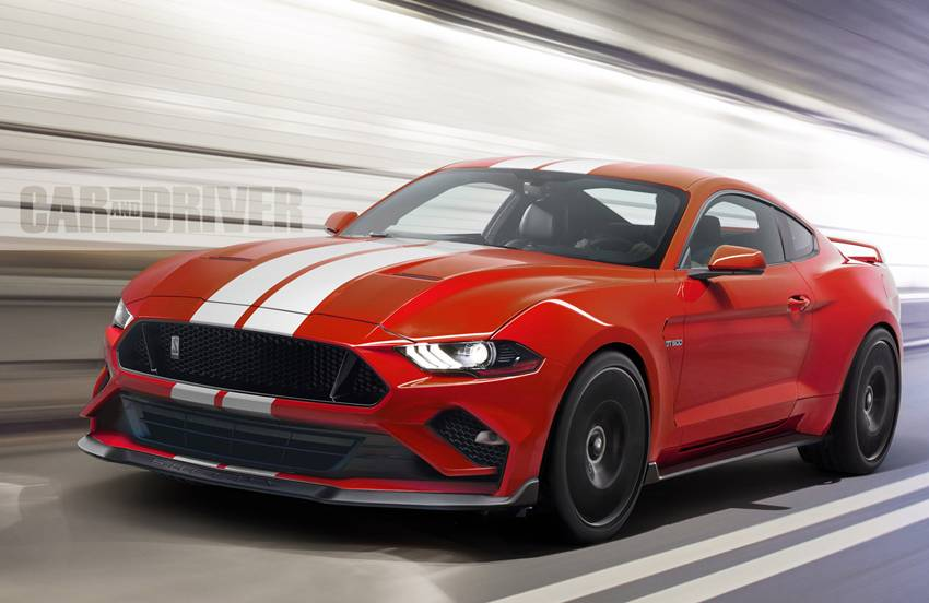 Mustang Shelby GT500 2019